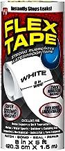 Flex Tape Rubberized Waterproof Tape, 8 inches x 5 feet, White