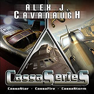 CassaSeries audiobook cover art