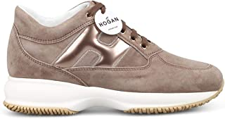 HOGAN Luxury Fashion Womens HXW00N0S3601SG09TB Beige Sneakers | Season Permanent
