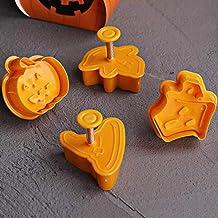 N/R 4pcs ABS + PC Herramientas de Postre de Cocina de Halloween Herramientas para Hornear, Naranja