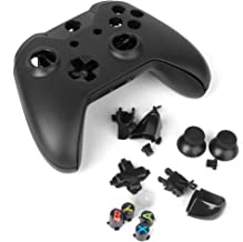 Baoblaze Full Housing Shell Case Kit Replacement Parts For Xbox One Wireless Controller - Black