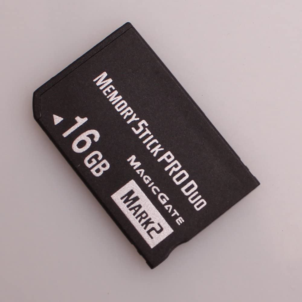 Huadawei 16GB MS(Mrak2) MemoryStick Pro Duo HX High Speed Memory Card for Sony PSP 1000 Accessories