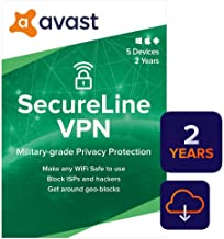 $39 » Avast SecureLine VPN 2020 | 5 Devices, 2 Years [PC/Mac/Mobile Download]