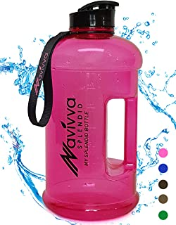 Color:Frosted Kaemma Botella de Agua para Deportes al Aire Libre Botella de Agua de pl/ástico port/átil a Prueba de Fugas de Color Caramelo con Cuerda Taza de Agua de Viaje para Acampar