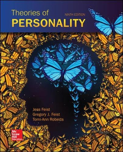 Compare Textbook Prices for Theories of Personality 9 Edition ISBN 9780077861926 by Feist, Jess,Feist, Gregory,Roberts, Tomi-Ann