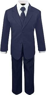 navy blue ring bearer suit