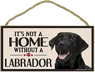 Imagine This Wood Sign for Black Lab Dog Breeds