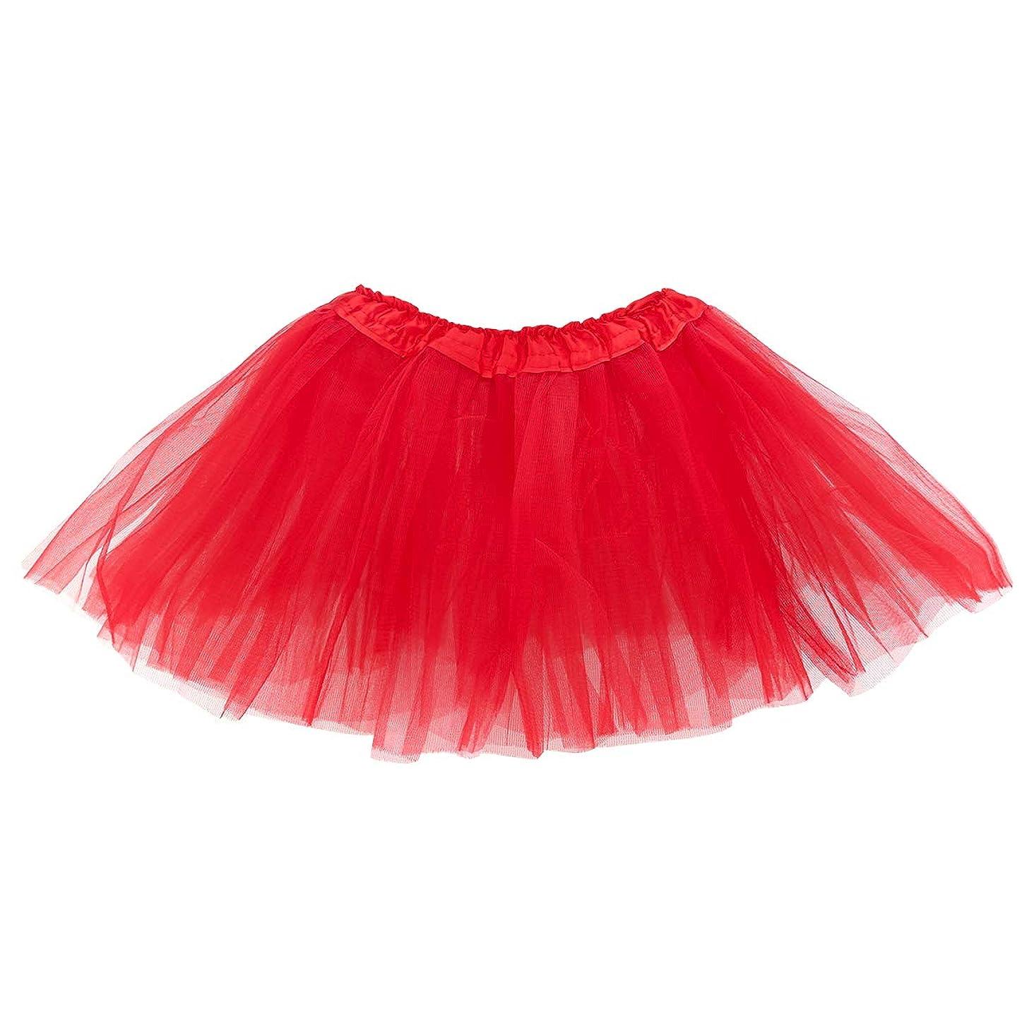 belababy Girls Tutu Ballet Dance Dress Up Skirt, 2-8T