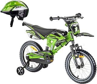 48-50 50-52 52-54 cm Kawasaki Kinderhelm Fahrradhelm für Kinder Shikuro grün Gr