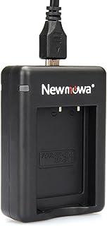 Newmowa USB Cargador Doble para Sony NP-BX1 / M8 NP-BY1 y Sony Cyber-Shot DSC-RX100 DSC-RX100 II DSC-RX100M II DSC-RX100 III DSC-RX100 IV DSC-RX100 V DSC-RX100 VII HDR -CX405