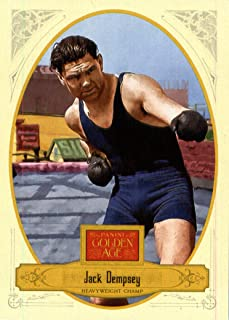 2012 Panini Golden Age Boxing Card #26 Jack Dempsey