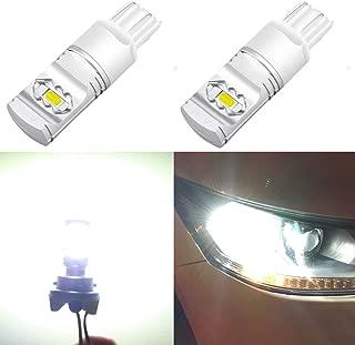 Alla Lighting 3800lm T20 7440 7443 White LED Bulbs Xtreme Super Bright 7441 7444 7443 LED Bulb ETI 56-SMD 6000K Xenon LED 7443 Bulb for Turn Signal Back-Up Reverse DRL Brake Stop Tail Lights (2pcs)