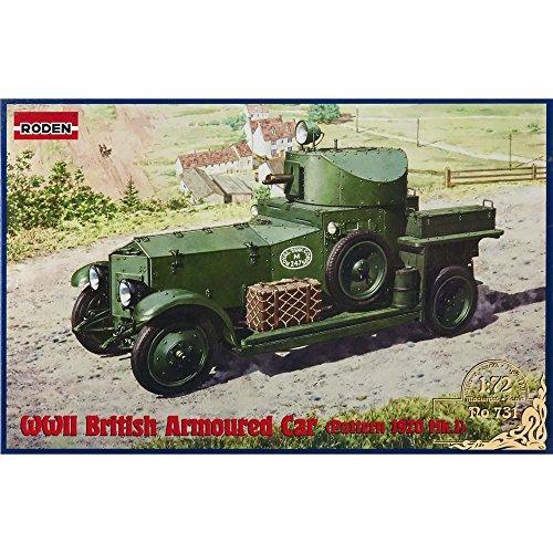 Roden 1/72 británica Vehículo blindado (Modelo 1920 Mkii