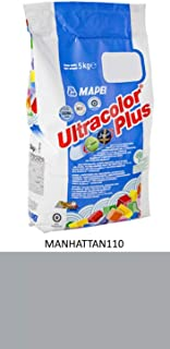 Royal Apex Mapei Ultracolor Plus High Performance Tile Grout Fast Set Water Repellent | 5Kg (MANHATTAN110)