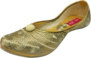 Step n Style Beaded Flip Flops Ethnic Sandals Bridal Wedding Shoes Flat Jutti Khussa