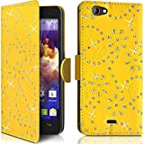 Seluxion Diamond style Wallet Shell Case for Wiko Highway