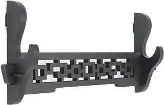 Eforlife Sword Holder Wall Mount Samurai Sword Katana Wakizashi Display Holder Stand Bracket Hanger 1-Tier