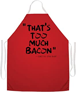 Attitude Aprons 2491 Too Much Bacon Apron