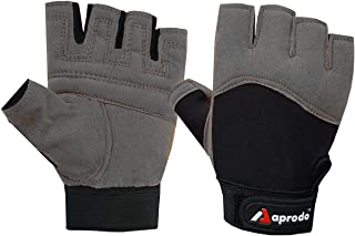 APRODO Beginner Weight Lifting Gym Gloves, Free Size