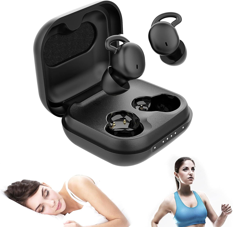 WEDOKING Bluetooth Sleep Long Beach Mall Headphones Max 54% OFF Mini Wireless True
