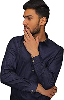 Klick Formal Shirt Made with fine Fabrics of Blended Cotton-KLS-3028