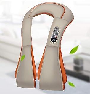 Masajeador De Espalda Masajeador Shiatsu Eléctrico Dispositivo De Masaje De Cuello Espalda Eléctrica Cinturón De Hombro Masajea Máquina De Rodillos G