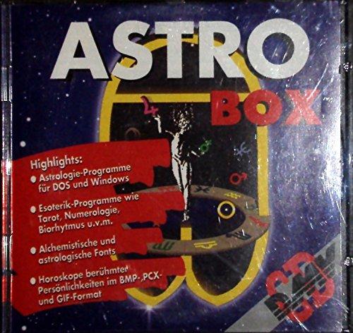 ASTRO BOX mit astrologischen Fonts im Truetype- + Adobe Type1-Format
