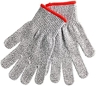 Premium Cut Resistant Gloves: Cut Proof Pair Of Gloves, EN388 Compliant | Level 5 High Performance Cut Protection For Kitchen & Garden | Machine Washable &Food Grade Material