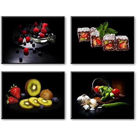 Healthy Vegetables Fruits Picture Canvas Print Painting Wall Art Kitchen Decor