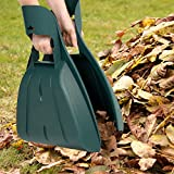 Pure Garden 50-114 Durable Gorilla Pesticide for Scooping Leaves, Spreading Mulch, Medical Surgical mask,Yard Work Leaf Grabber Hand Rake Claw-Lightweight, unknown