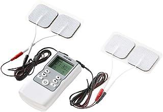 LYHD Electroestimulador Profesional TENS EMS Muscular Estimulador Masajeador Electro 4 Canales 16 Modo Pantalla Digital Masajeador Corporal Meridiano Máquina de Fisioterapia Muscular de Relajación