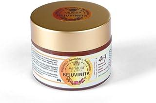 Vanaura Organics - Rejuvinita 4-in-1 Organic Gel (Massage Gel, Leave-on Mask, Cleanser, Soap-Free Wash), 50gm