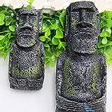 Changlesu - 2 Piezas de Figuras de Cabeza de la Antigua Isla de...