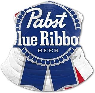 Pabst - Pasamontañas para cuello con logo de cerveza, protección UV, resistente al viento, multifunción, para niños y niñas