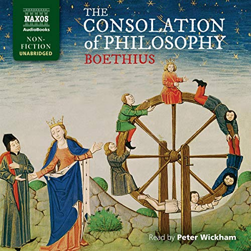 The Consolation of Philosophy audiobook cover art