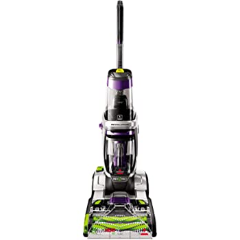 BISSELLProHeat 2X Revolution Max Clean Pet Pro Full-Size Carpet Cleaner, 1986, Sparkle Silver with Grapevine Purple Accents