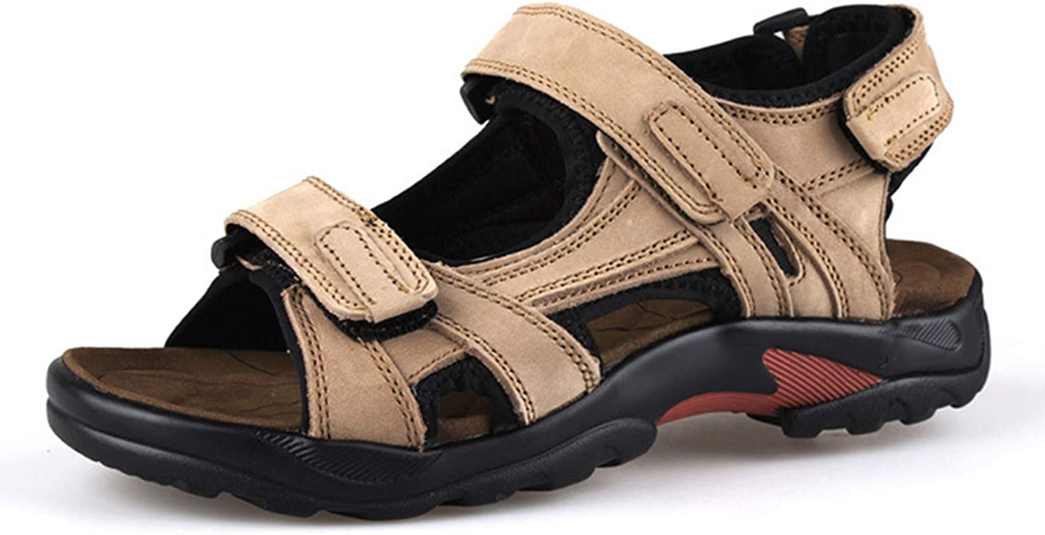 BININBOX 卸売り Mens Leather トレンド Sandals Summer Outdoor Beach Sports Shoes
