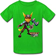 Solid Ratchet & Clank Film Covers cute children T-shirt