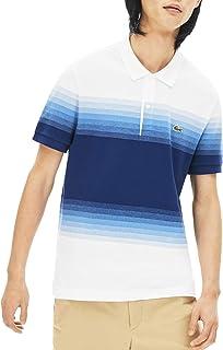 Men's Short Sleeve Regular Fit Ombre Polo Shirt