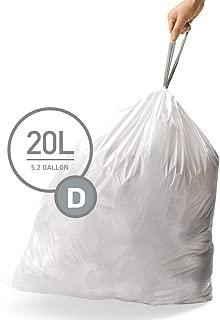 Best simplehuman trash bags alternative Reviews