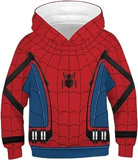 SPIDERMAN MAGLIETTA MANICA LUNGA 98 104 116 128 giovani manica lunga Top Marvel bambini Pullover