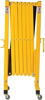 Industrial Safety Gate | Portable Safety Barrier & Retractable Fence with Casters | Portable Fence Expandable Gates | Mobi...