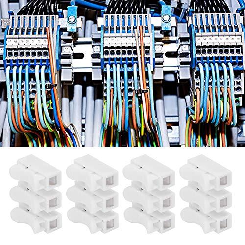Terminal de cable, resistente a la corrosión, antideslizante, conector de 3 clavijas duradero, iluminación para controles eléctricos, electrodomésticos, suministros de energía