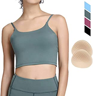 Sports Bras Workout Tops for Women - Sports Bra Running Fitness Yoga Camisole Crop Tank Tops