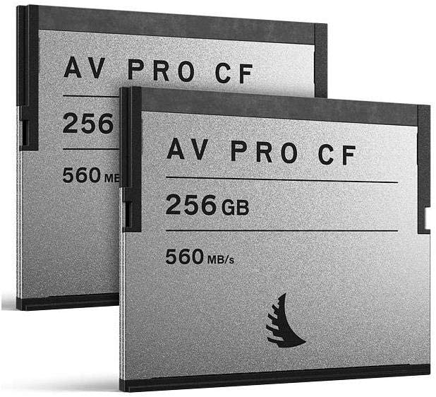 Angelbird AV Pro CF 256GB CFast 2.0 Memory Card, 2 Pack