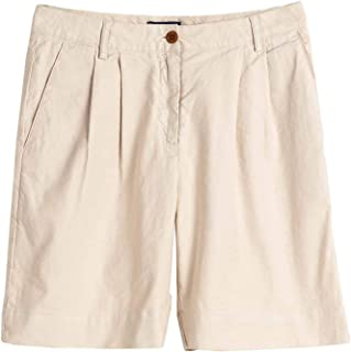 Gant Hw Pleated City Shorts Womens Shorts