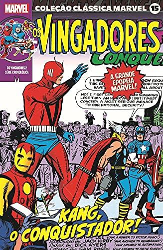 Coleção Clássica Marvel Vol.15 - Vingadores Vol.02