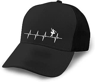 N/ Ballet Heartbeat Ballerinas Amp; Ballet Dancers Hat Cap Baseball Black