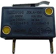 JDLA-106 250V 10/8A Small-Scale Limit Switch Pressure Bar Micro Electric Control Single Type Switches for Mechanical Equip...