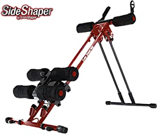 Side Shaper by 5 Mins Shaper Pro - Ab Carver Workout Equipment Portable Ab Machine Core Max Work Out Trainer Muscle Toning Device - Body Toner Exercise/Adjustable Workout Fitness Cruncher/Coaster